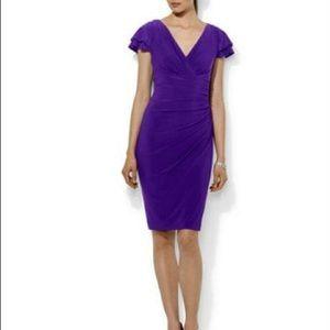 Lauren Purple Dress NWT 8